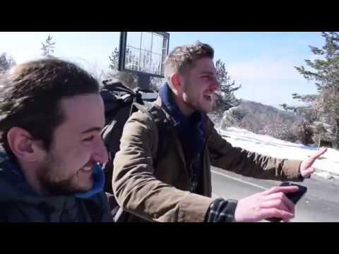Hitchhiking road trip to Macedonia