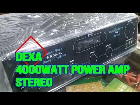 Stereo Amplifier Kit