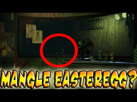 Five nights at freddy s 3 phantom mangle easteregg youtube