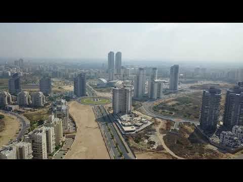 Flight over Ashdod 4k. mavic pro