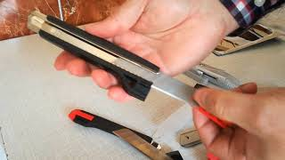 rd #263 LIDL POWERFIX Utility Knife Set Unboxing