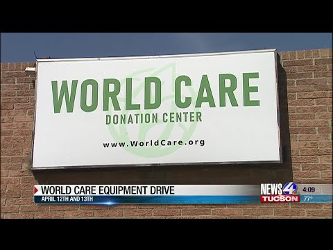 World Care Medical Equipment Supply Drive