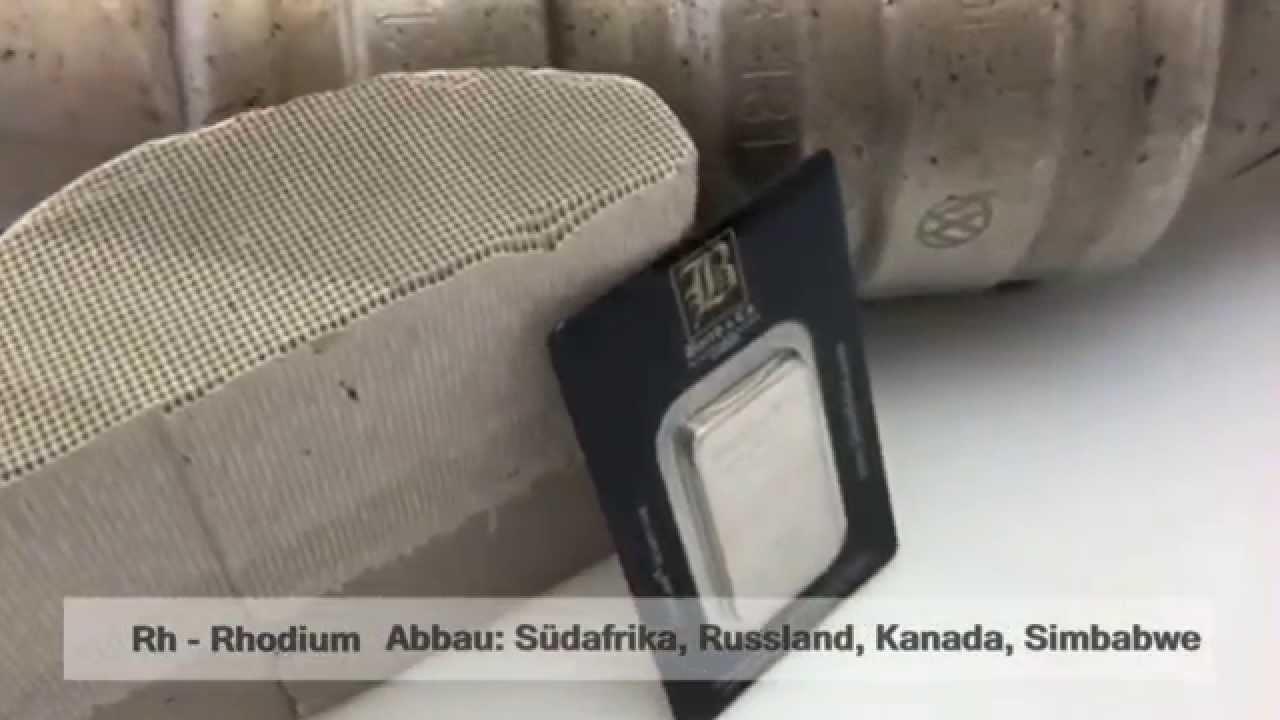 Rhodium das alternative Edelmetall Investment