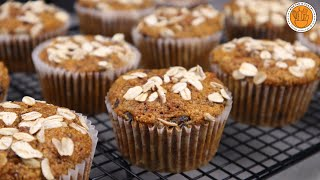 Healthy Banana Oat Muffins | Mortar and Pastry
