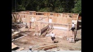 House Construction Time Lapse