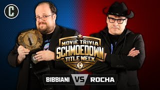 TITLE MATCH! William Bibbiani VS John Rocha - Movie Trivia Schmoedown
