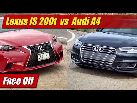 Face Off: Lexus IS 200t vs Audi A4 Quattro