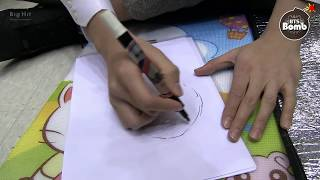 [BANGTAN BOMB] Drawing their 2014!
