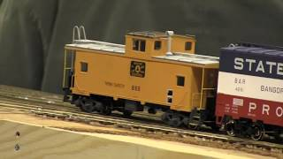 HO Scale American  Model Trains/Locomotives  Layout *Southern Pacific* Railroad - Hobby Fair 2017