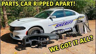 Download Rebuilding A Wrecked 2018 Dodge Charger Police Car Part 7 Mp3 and Videos