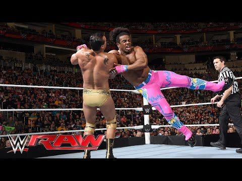 The New Day vs. The League of Nations - WWE Tag Team Championship Match: Raw, March 14, 2016