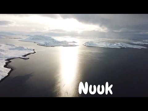 4K drone footage of Nuuk, Greenland