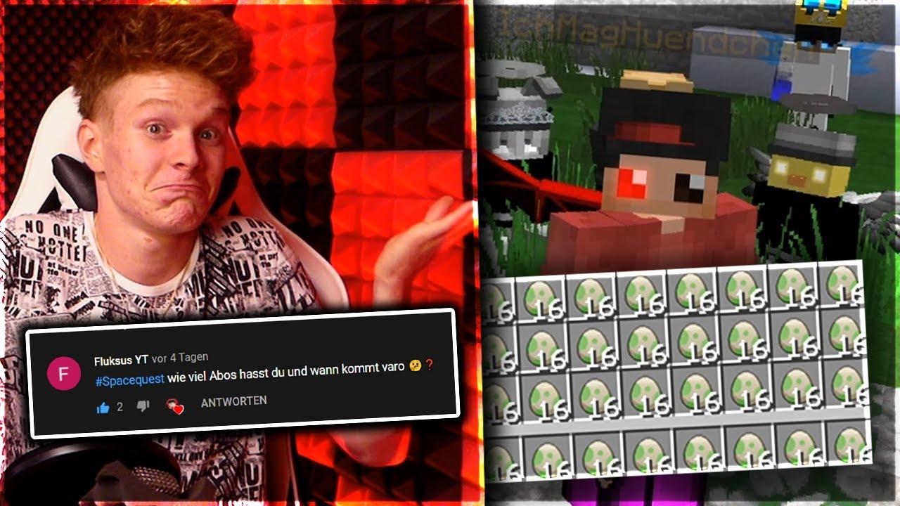 Ich SINGE🎤 + Minecraft WITZE! 😂| #SPACEQUEST