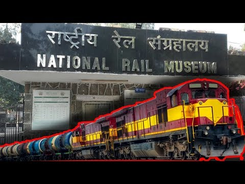 Visit of The National Rail Museum in New Delhi