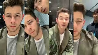 Baixar Jonas Brothers live stream from Paris via instagram (5.21.19)