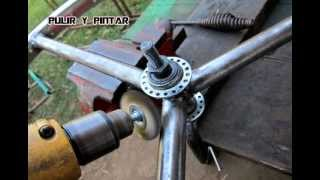 TINTASANGRE-TRIFILAR CHOPPER WHEEL CONSTRUCTION