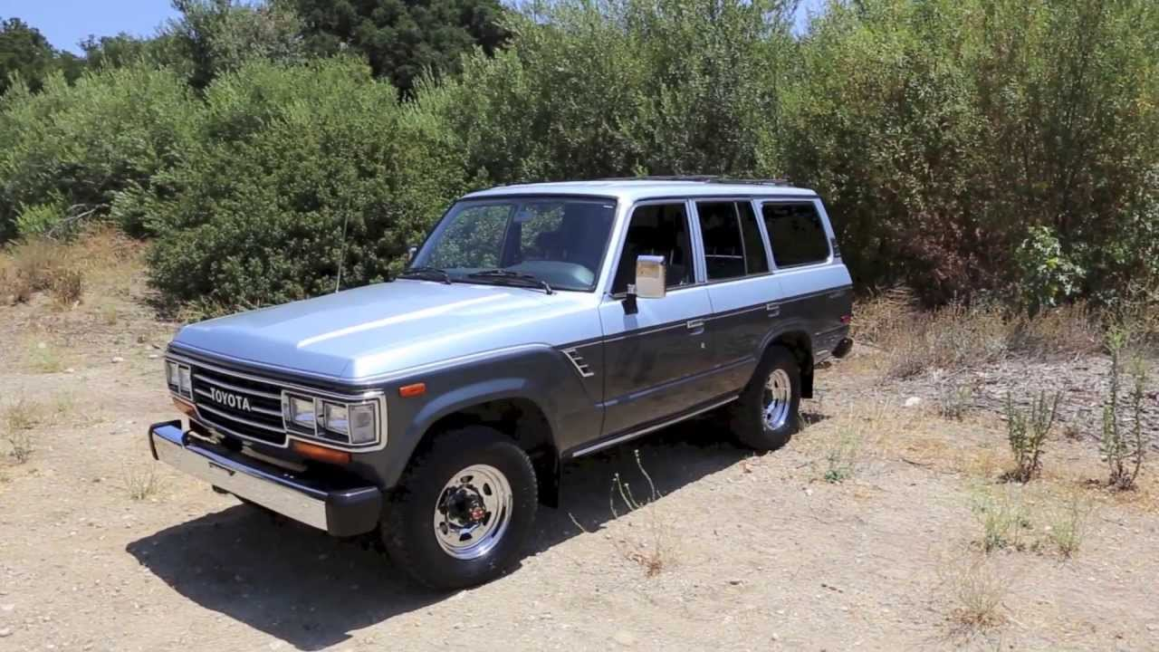 Perfect 1988 Toyota Land Cruiser For Sale At TLC   YouTube