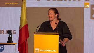 Margarita de la Pisa DEFIENDE LA VIDA desde la CONCEPCIÓN en los Premios HO 2021