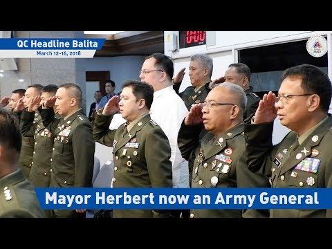Mayor Herbert now an Army General