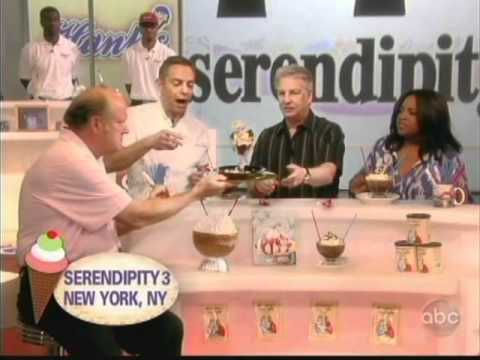 Serendipity 3 celebrates National Ice Cream Month on The View