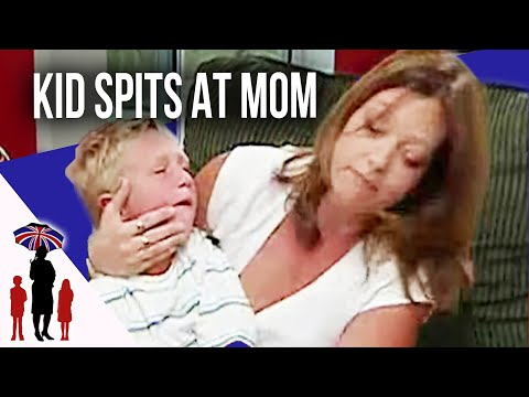Aggressive Child Spits At Mom | Supernanny