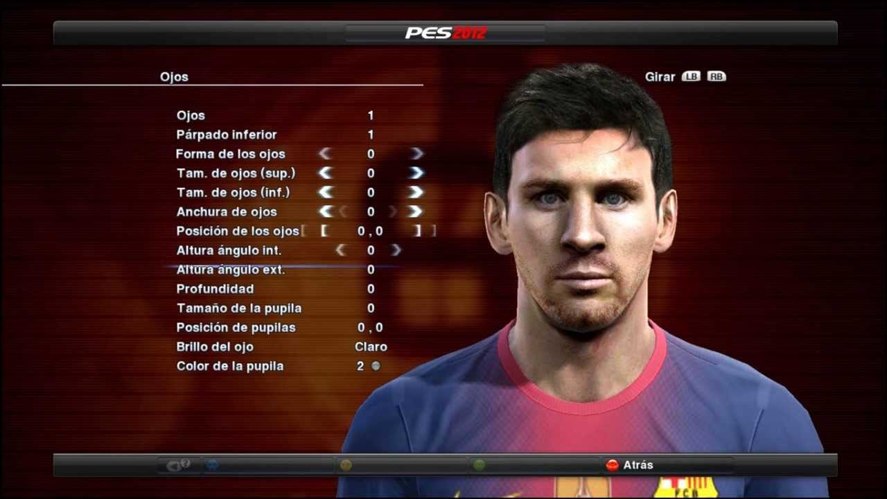 Face Y Hair De Messi Pes 2012 2013 Mayo 2013 Youtube