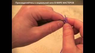 Вязание ажурной дорожки спицами, часть 1