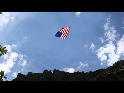 Old Glory, Little Willow Creek Canyon, Wasatch Front - Sandy, Utah