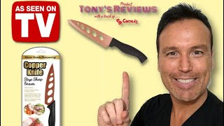 Copper Knife Review   As Seen on TV