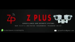 Z PLUS surveillance and security systems