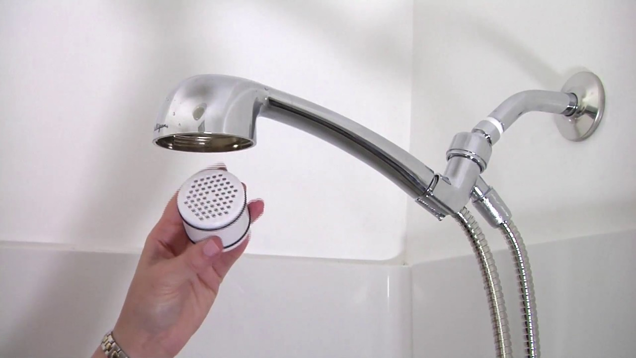 How to replace filter on Culligan HSH-C135 Handheld Showerhead ...
