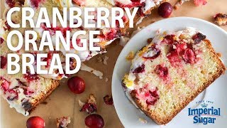 How to Make Orange Cranberry Bread