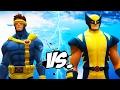 WOLVERINE VS CYCLOPS - EPIC SUPERHEROES BATTLE