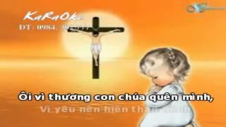 Karaoke Tình Chúa Cao Vời - Phan Đình Tùng - Karaoke Thánh Ca