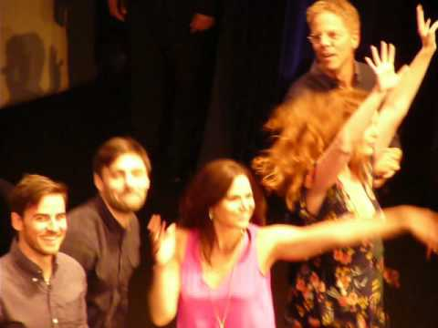 Firework FT4 closing ceremony  with Lana Parrilla,Bex Mader.....