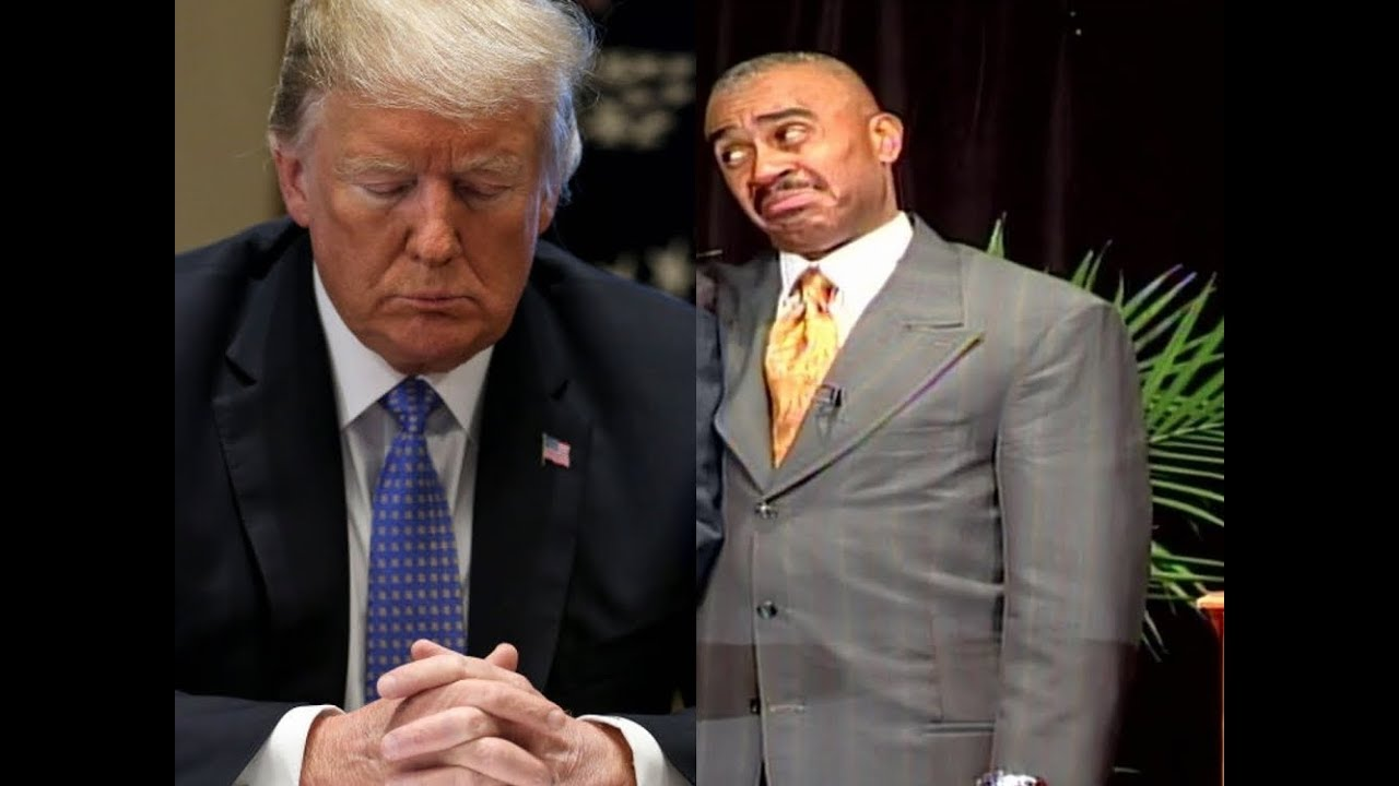 Is Donald Trump a God to Christians, Pastor Gino Jennings set the record straight | Bible Flock