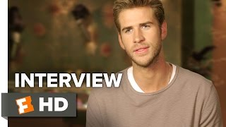 The Hunger Games: Mockingjay - Part 2 Interview - Liam Hemsworth (2015) - Sci-Fi HD