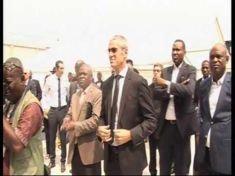 Inauguration d'un dépôt pharmaceutique moderne par Bolloré Logistics RDC