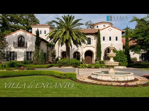 Architecture Spotlight #64 | Villa de Encanto by Sims Luxury Builders | Houston Texas