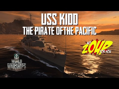 USS KIDD Review -The Pirate of the Pacific - World of Warships