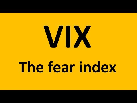 VIX Index - the fear index - Is it something to use?