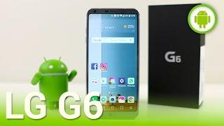 LG G6, recensione in italiano