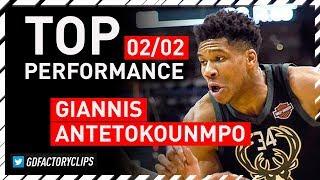 Giannis Antetokounmpo TOP Full Highlights vs Knicks - 29 Pts, 11 Reb, Game-WINNER | 2018.02.02