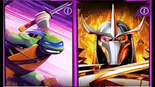Черепашки ниндзя ЛегендыTMNT Legends #6  Мульт игра для детей #Мобильные игры