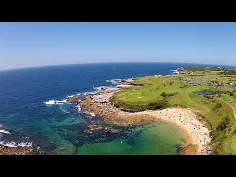 Little Bay Beach & The Coast Golf Course.