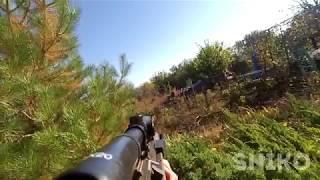 Тест воздушной винтовки с оптическим прицелом