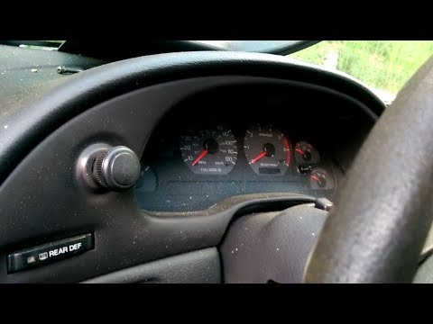 How To Gauge Cluster Removal Ford Mustang 94 - 04 Mustang Cobra, Mach 1, GT, V6