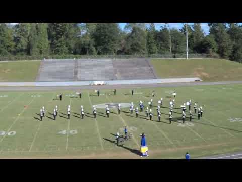 2018 Mud Creek Marching Festival: Cold Springs High School Band
