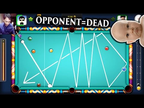 8 Ball Pool- SHOT FROM ANOTHER PLANET? Insane Snooker Escape (Aamir's Road)