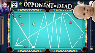 8 Ball Pool- SHOT FROM ANOTHER PLANET? Insane Snooker Escape (Aamir